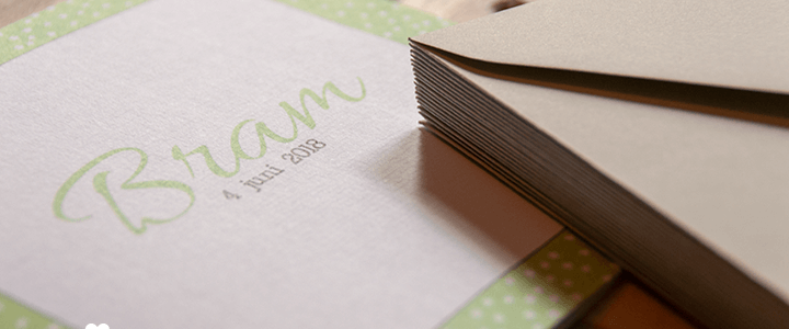 geboortekaartjes van mycards